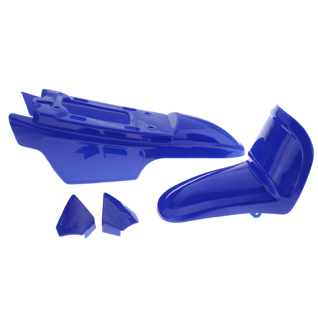 Brand New Front & Rear Fenders with Parts Kit for Yamaha PW50 PY50 PW PY 50 Front Rear Fender Extension   - title=