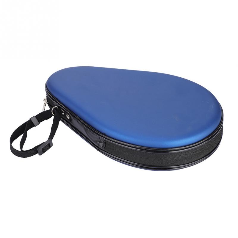 Table Tennis Racket Case Waterproof Professional Ping Pong Bat Bag Gourd Shape Table Tennis Racket Bag Accessories Equipment