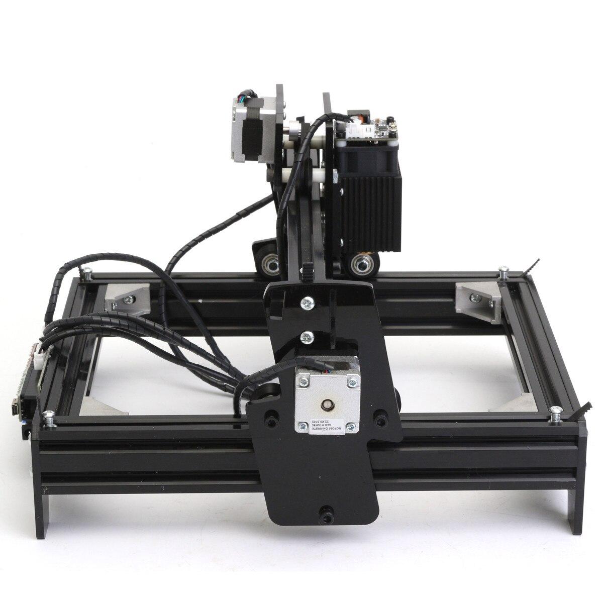 12 w 12000 mW 12 v bricolage CNC graveur Laser USB métal pierre gravure Machine bureau bois routeur/Cutter/imprimante pour Windows 7/8/10 - 2
