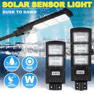 LED Solar Light Radar PIR Moti
