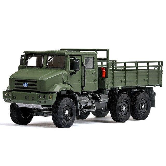 36 D'alliage Voiture Jouet En Glissement Simulation 1 Camion Militaire Moulage Modèle Matrice De Inertiel y0Pvm8wONn