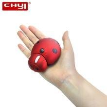 Беспроводная лазерная мини эргономичная компьютерная мышь chyi
