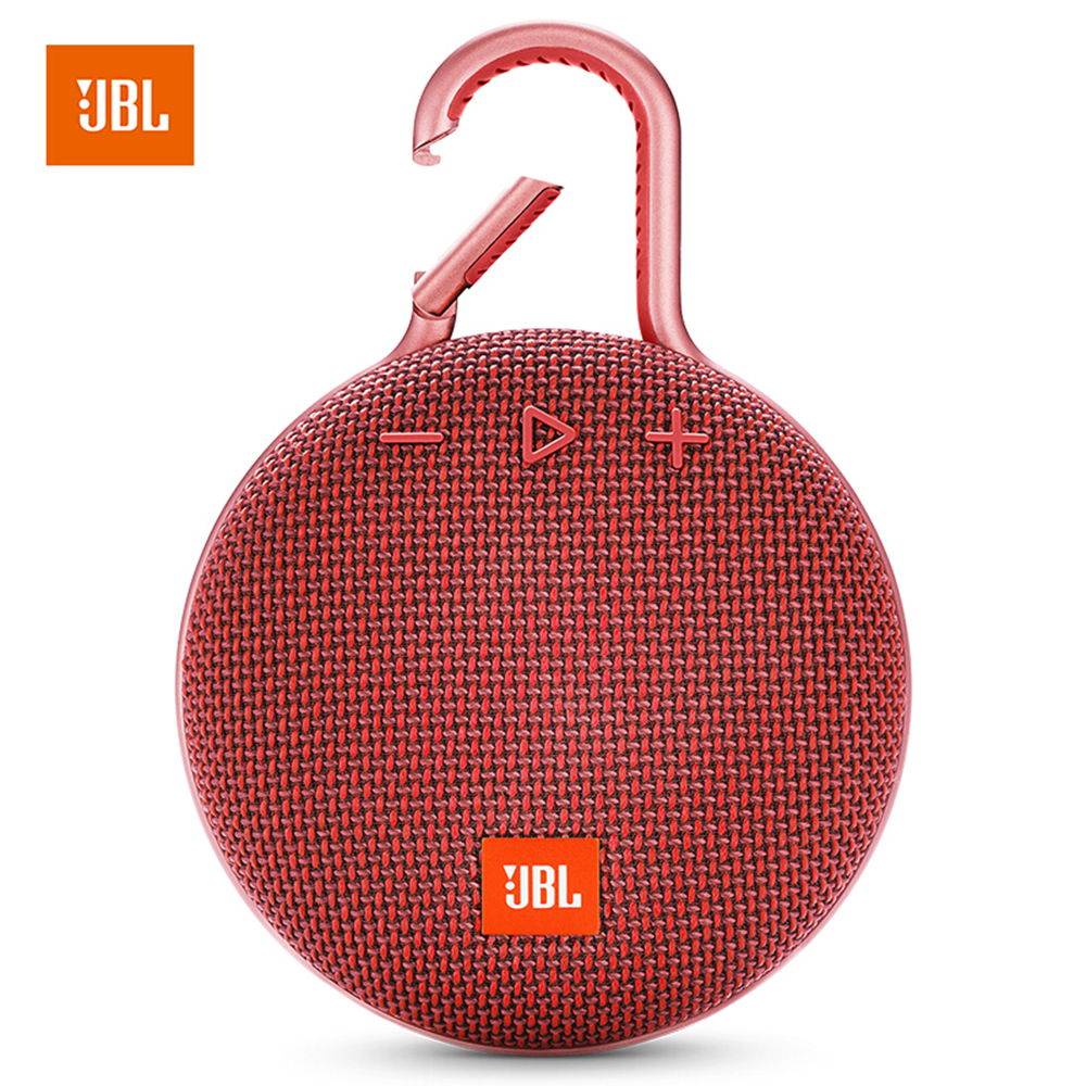 JBL Clip 3 Portable Bluetooth Outdoor Mini Speaker Wireless IPX7 Waterproof Subwoofer Stereo Bass Music Player with Mic-in Portable Speakers from Consumer Electronics    1