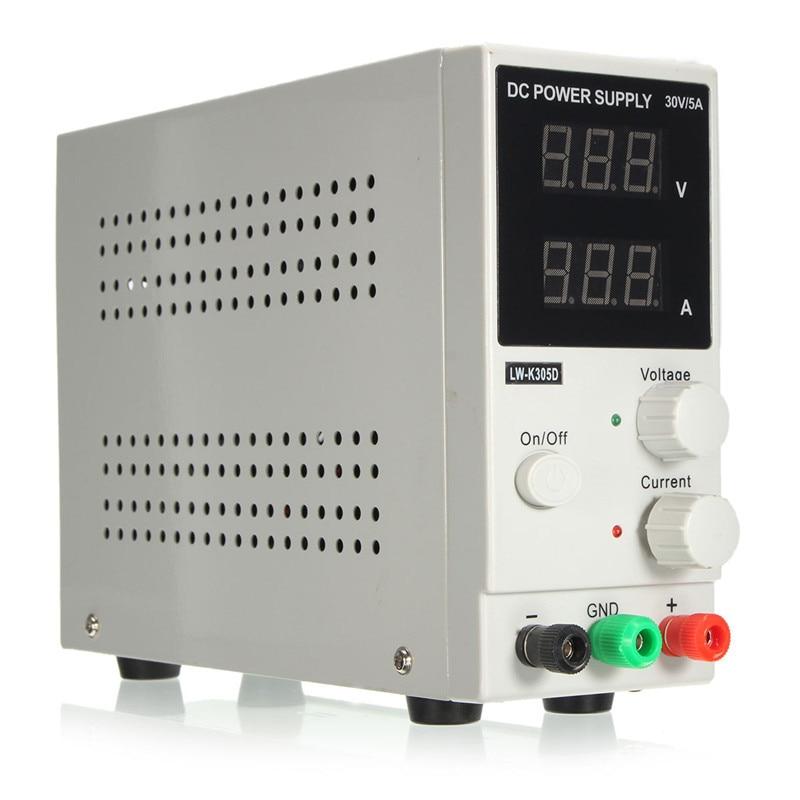 Nouvelle alimentation cc réglable numérique batterie au Lithium charge DC alimentation 30 V 5A téléphone réparation alimentation à découpage