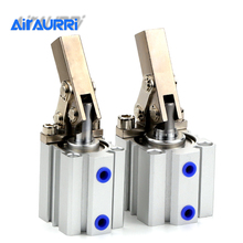 Lever downward cylinder BORE ALC/JGL 25 32 40 50 63 Double Action Clamping Cylinder Air Compressor Pneumatic components