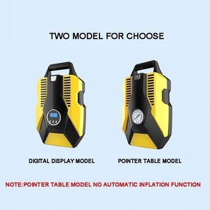 Image 5 - תצוגה דיגיטלית מכונית מתנפח משאבת 12V/220V אוטומטי רכב אוויר מדחס רכב צמיג Inflator משאבת עבור רכב אופנועים אופניים