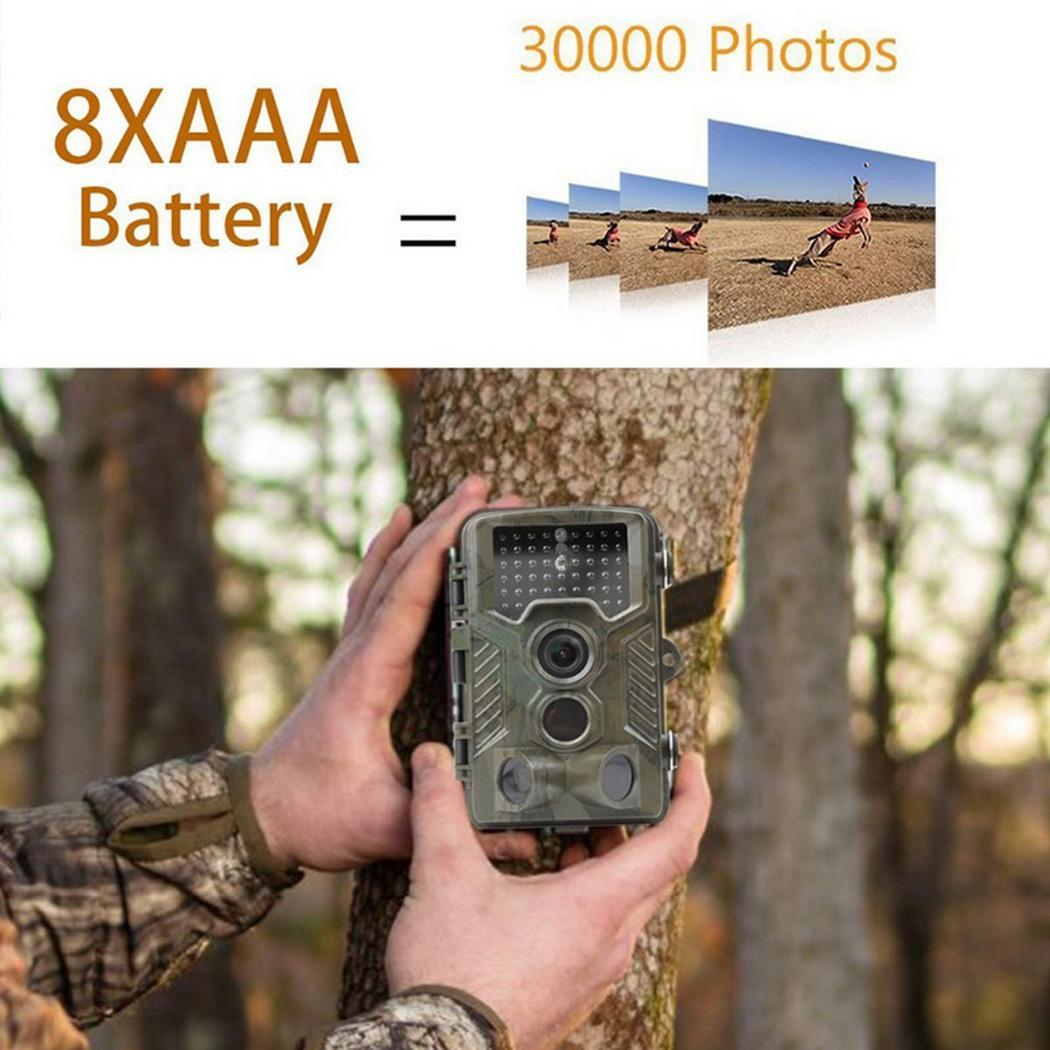 <font><b>HC800A</b></font> Infrared <font><b>Hunting</b></font> <font><b>Camera</b></font> Scouting Wild <font><b>Camera</b></font> 12MP 1080P Photo Traps Night Vision for Animal <font><b>Trail</b></font> <font><b>Camera</b></font> Hunter chasse image