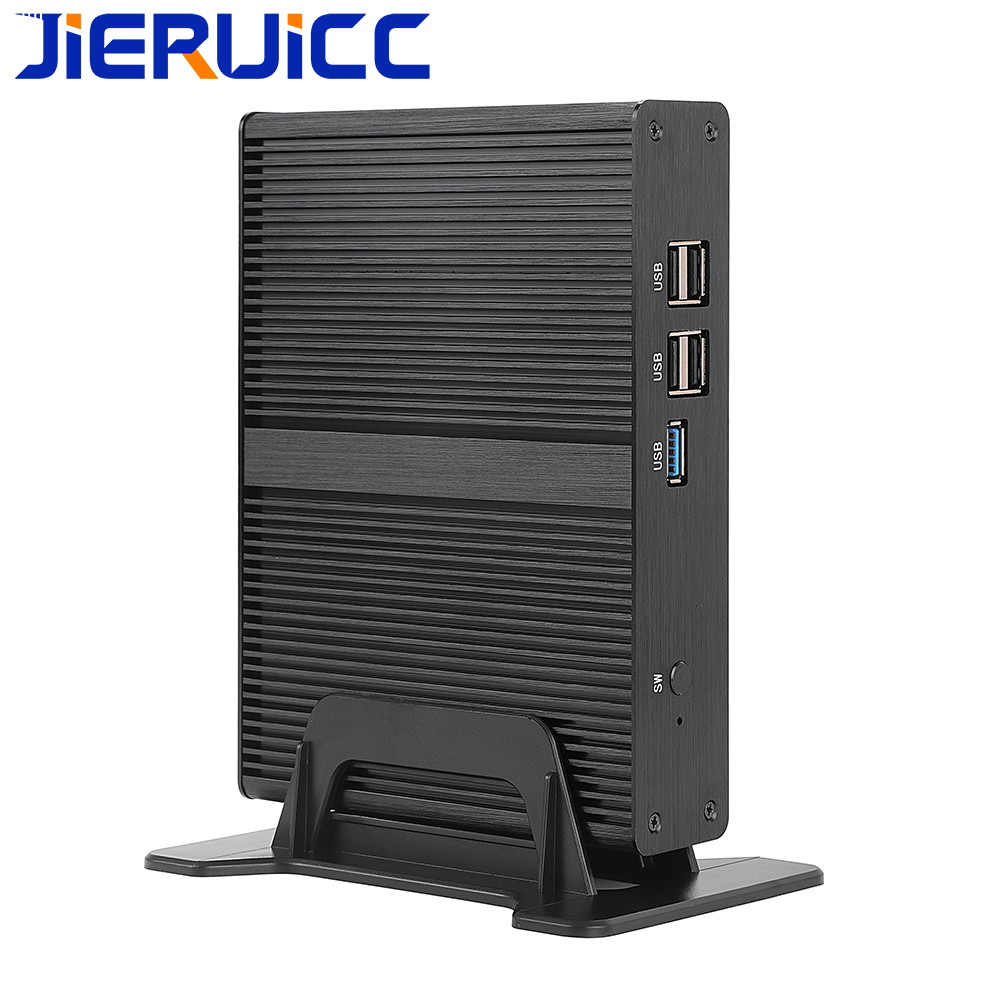 Windows Mini Pc Intel Celeron Quad-core 2.0-2.41Ghz CPU DDR3 RAM/Msata/SATA SSD 6USB Port