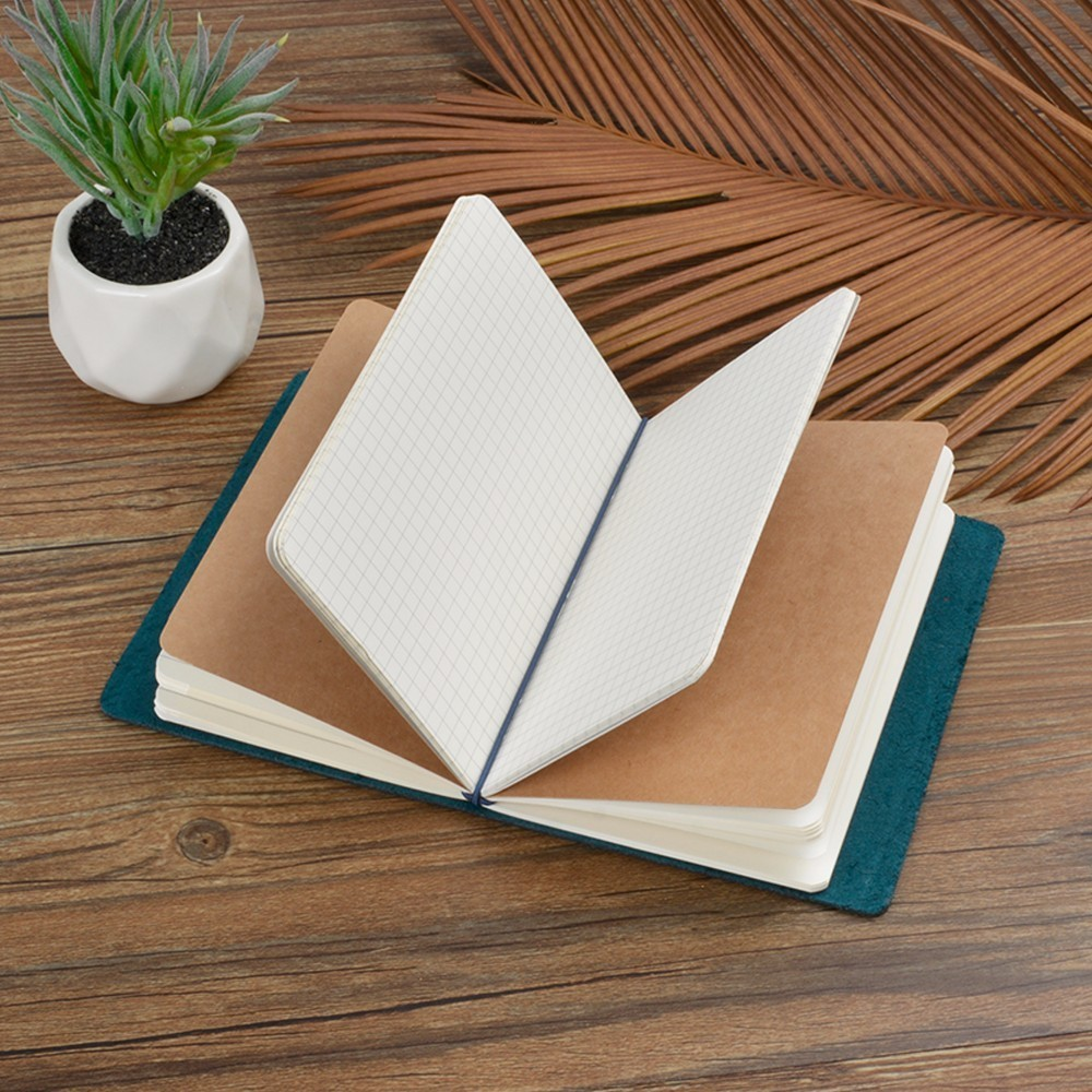 Image 4 - New Arrivals Field Notes Journal Cover Genuine Leather Notebook Planner Handmade Travel Agenda Pocket Diary Vintage StationeryNotebooks   -