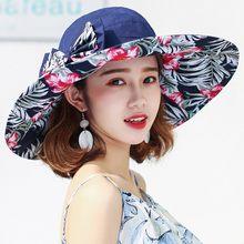 Chapéu de verão reversível para mulheres, aba supergrande, boné de praia, chapéu de sol feminino, estilo inglaterra, meninas, arco, chapéu fedora
