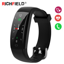 Smart Bracelet Heart Rate Sleep Monitor Fitness Activity Tracker Waterproof Pedometer Wristband Watch Band