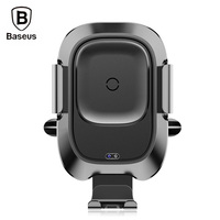 Baseus WXZN 01 Car Mount Vehicle Bracket Wireless Charger Phone Charging Holder For Iphone Samsung 4.0 6.5 Inch Mobile Phone