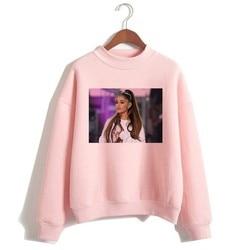 Ariana Grande Sweatshirt 2019 No Tears Left To Cry Hoodie Women Print God Is A Woman Sweatshirts Pullover hoodies Harajuku 3