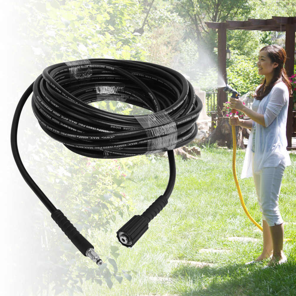 6m 8m 10m High Pressure Car Pipe Water Cleaning Hose Car Washer Pipe Washing for Karcher K2 K3 K4 K5 Garden Vehicle Clean Tools
