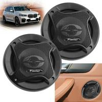 1Pair 12V 5 inch universal car speaker 300W auto sound system car audio coaxial speakers tweeter som automotivo with car horn