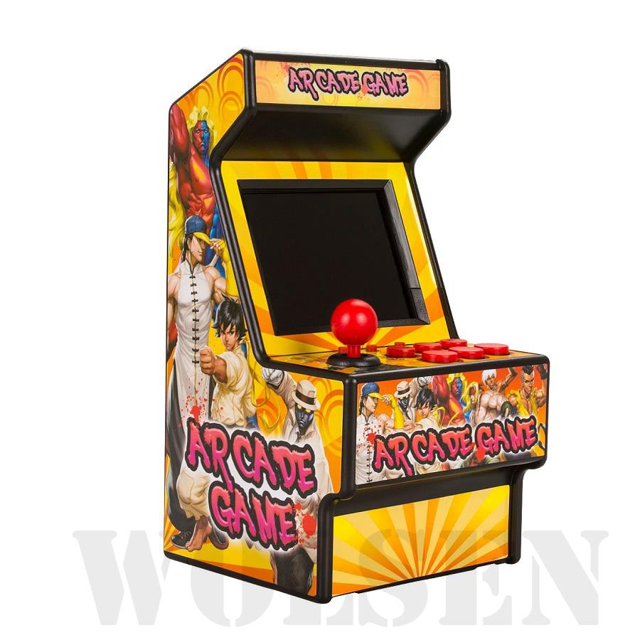 Image 5 - Wolsen 16 Bit mini Arcade games video portable retro game console arcade cabinet TV handheld game built in 156 games-in Video Game Consoles from Consumer Electronics