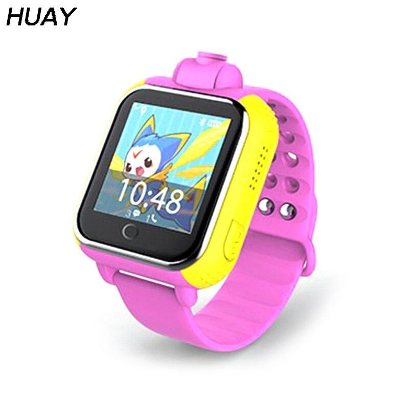 GPS Tracker montre enfants 3G WCDMA Q10 SOS caméra d'urgence Bluetooth GPS LBS emplacement écran tactile enfants montre-bracelet intelligente Q730