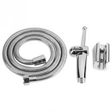 Multi-functional Bidet Sprayer Handheld Adjustable Shower Hose Wall Holder Bathroom Accessories New Arrival