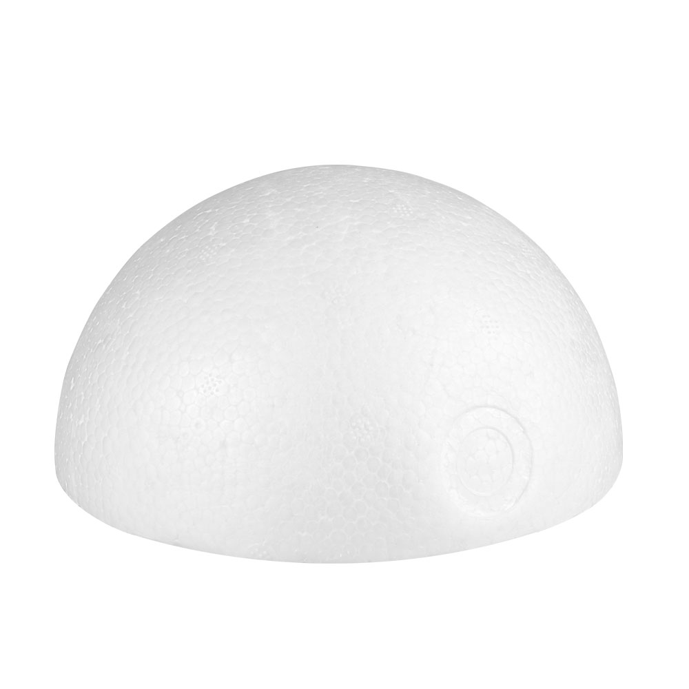 Modelling Polystyrene Styrofoam Foam White semicircle Craft Hemisphere For DIY Christmas Party Decoration Supplies Gifts