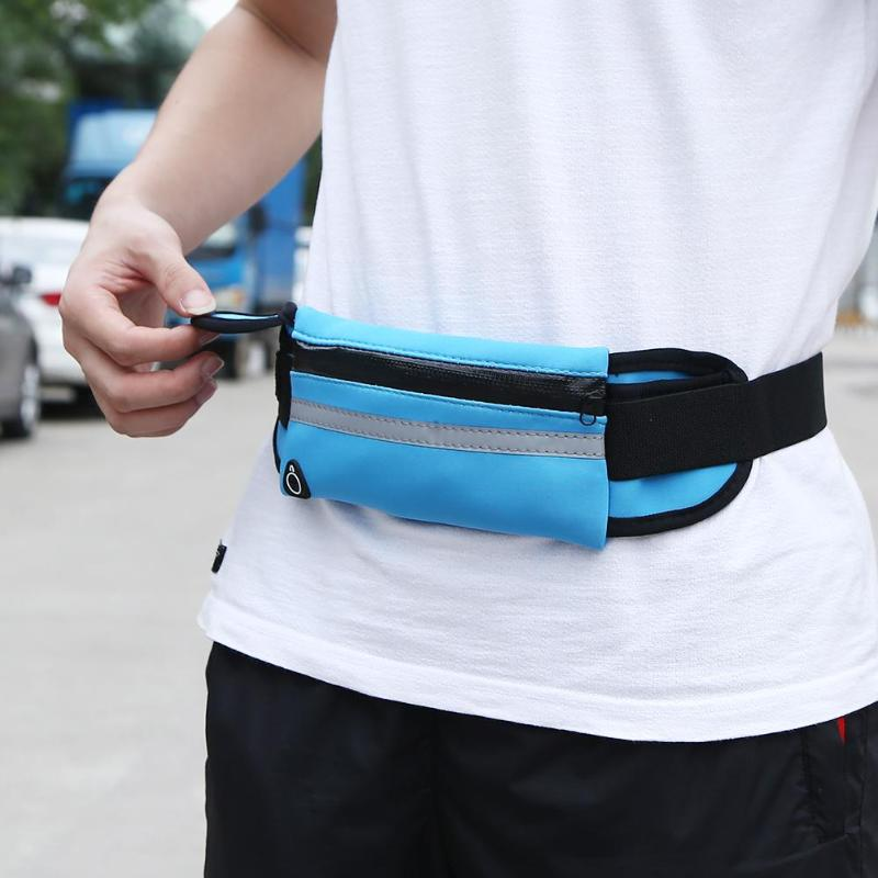 Outdoor Waterproof  Running Waist Bag Men Women Fitness Packs Mobile Phone Holder Jogging Sports Running Belt Water Bags