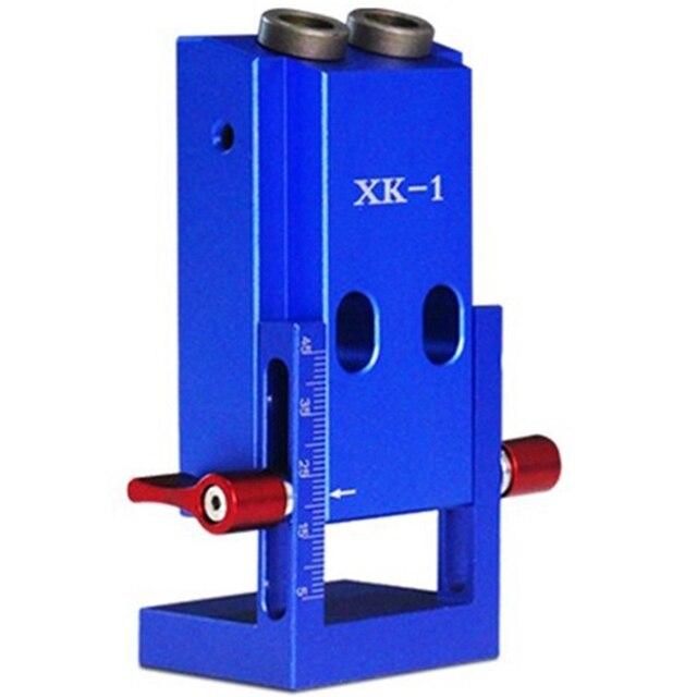 Fengsen, Kit de pinza de bolsillo para carpintería, Xk-1, orificio oblicuo para carpintería, orificio oblicuo, localizador oblicuo, herramientas para carpintería (A)