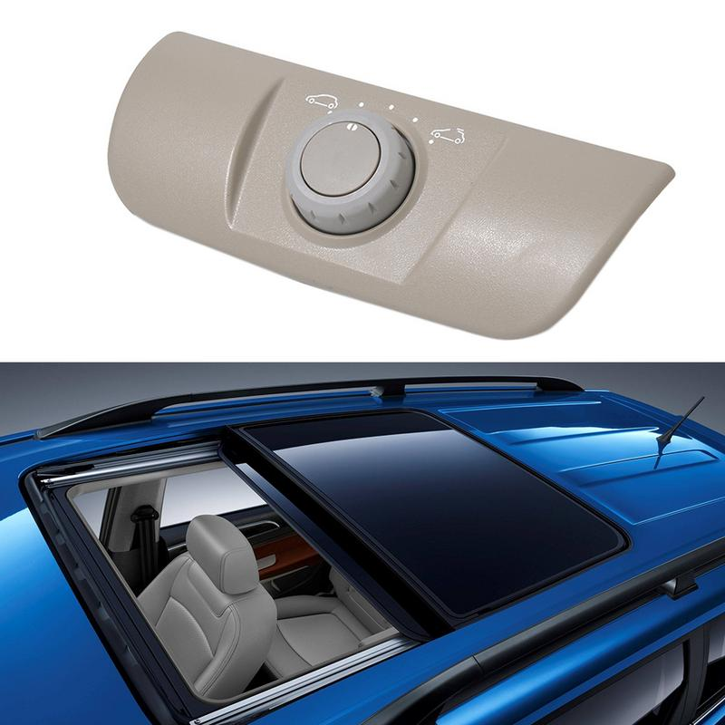Professional 1pc Plastic Beige Sunroof Switch Sunroof Control With Panel For Renault Megane MK2 8200119893 in Car Switches Relays from Automobiles Motorcycles
