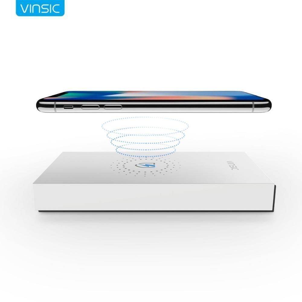 Vinsic 12000 mAh batterie externe Qi Sans Fil chargeur de batterie externe De Sauvegarde USB Powerbank Pour Xiao mi mi iPhone X Note 8