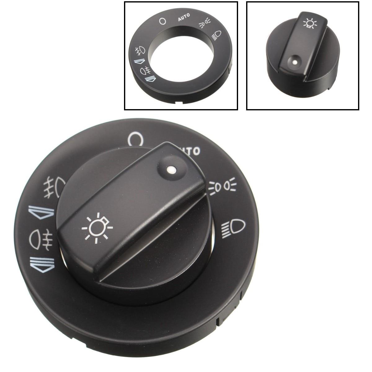 W / Auto Headlight Fog Light Control Switch Cover Cap Repair Kit For AUDI A4 S4 8E B6 B7 8E0941531B