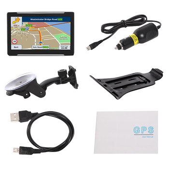 7 Inch 256Mb 8G Hd Capacitive Screen Portable Gps Car Car Navigation System