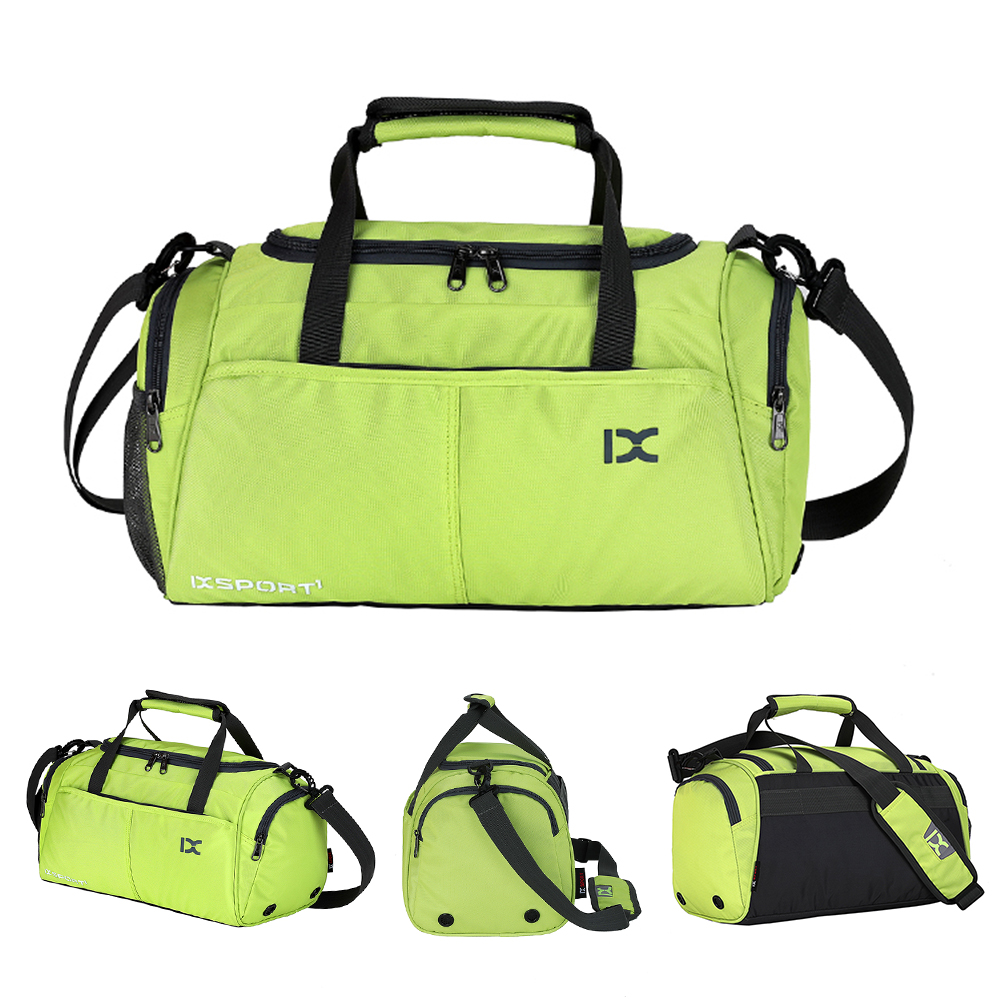 18L Waterproof Travel Duffele Bag With Separate Shoe Compartment For Men Women Sports Gym Tote Bag Outdoor Bags