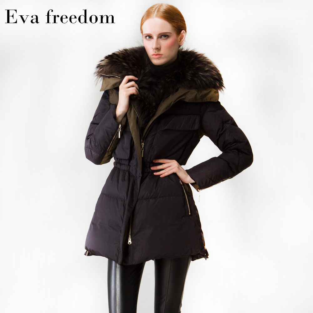Moda Largo Chaquetas Mujer Ropa Black Nuevo Piel Grueso Invierno TRxqxwSAYO