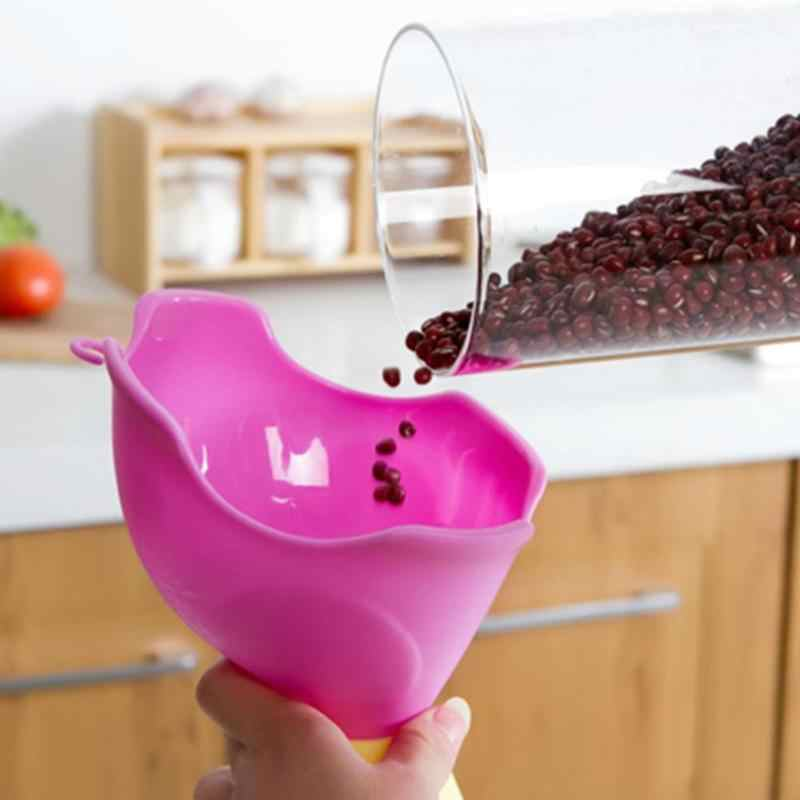 Multi Function Useful Funnels Silicone Elephant Hopper Mini Kitchen Cozinha Cooking Tools Accessories Gadgets Kitchen Tool New