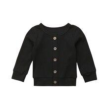 Pudcoco/детский вязаный свитер для маленьких девочек; пуловер; кардиган; верхняя одежда