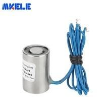 High Quality MKP16/25 Holding Electric Magnet Lifting 2KG/20N Solenoid Sucker Electromagnet DC 6V 12V 24V Free Shipping
