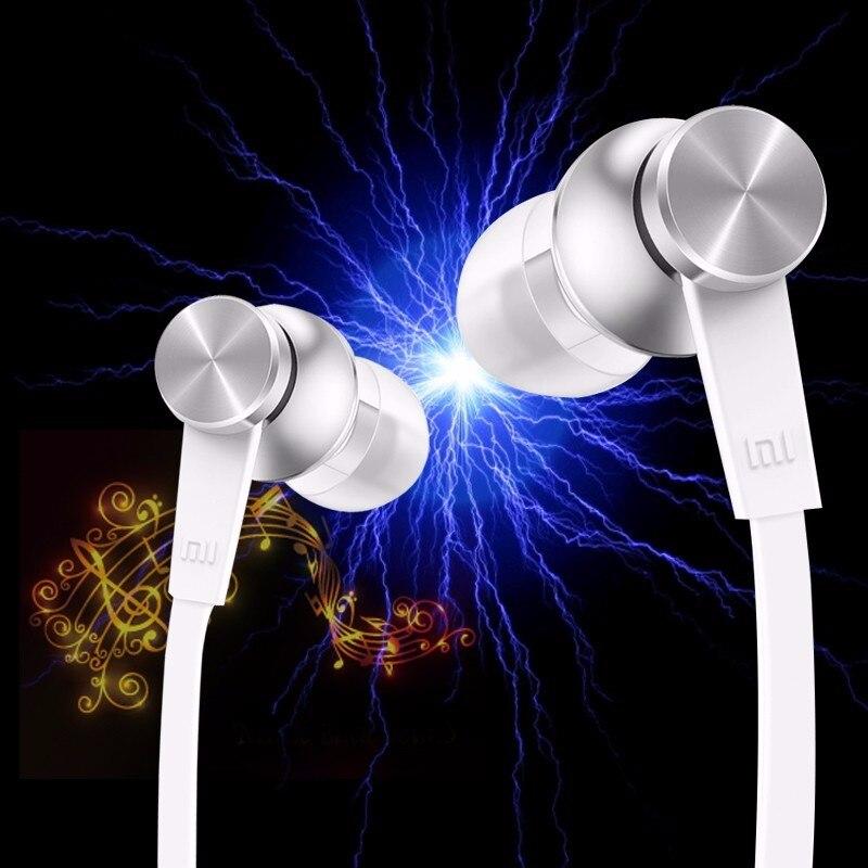 Lot de 4 pc Xiao mi mi Piston 3 ecouteurs avec mi crophone mains libres contrôle de fil In-ecouteur suppression de bruit écouteur
