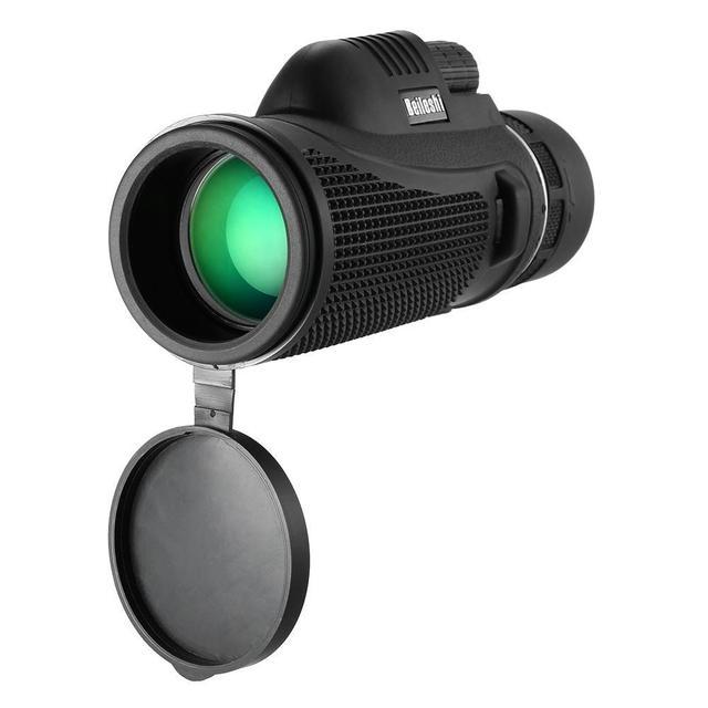 Beileshi 10X42 телескоп Монокуляр Мощный Ручной Монокуляр Охота Зрительная труба для наружного наблюдения за птицами концерт с сумкой