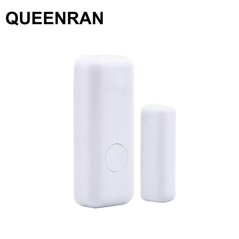 1/2/5/10pcs Wireless Door Window Magnetic Sensor For 433MHz WIFI GSM Door Contact Detector Alarm System For Smart Home Security