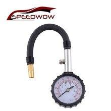 SPEEDWOW jauge de pression dair pour pneu de voiture en Tube Long, système de contrôle pour véhicule, testeur pour vélo