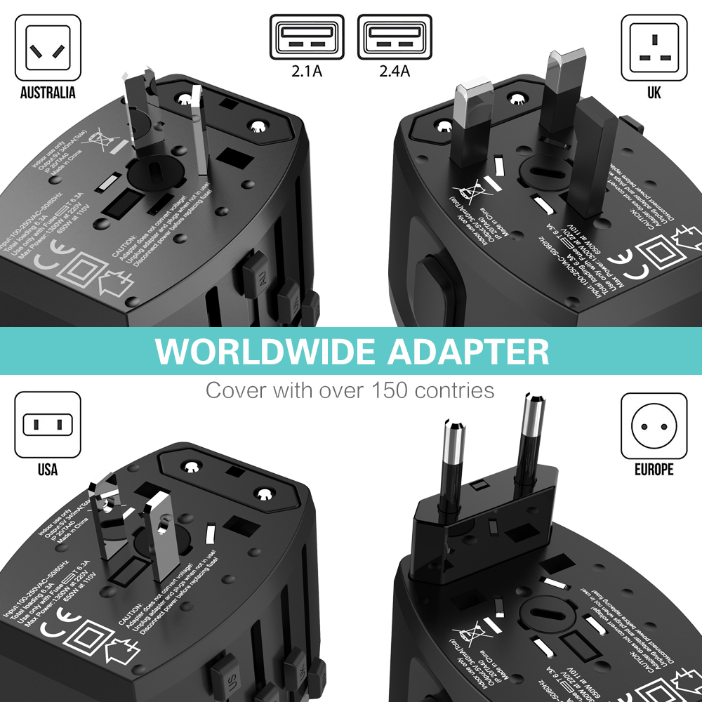 4 Adapter Multi 2.4A