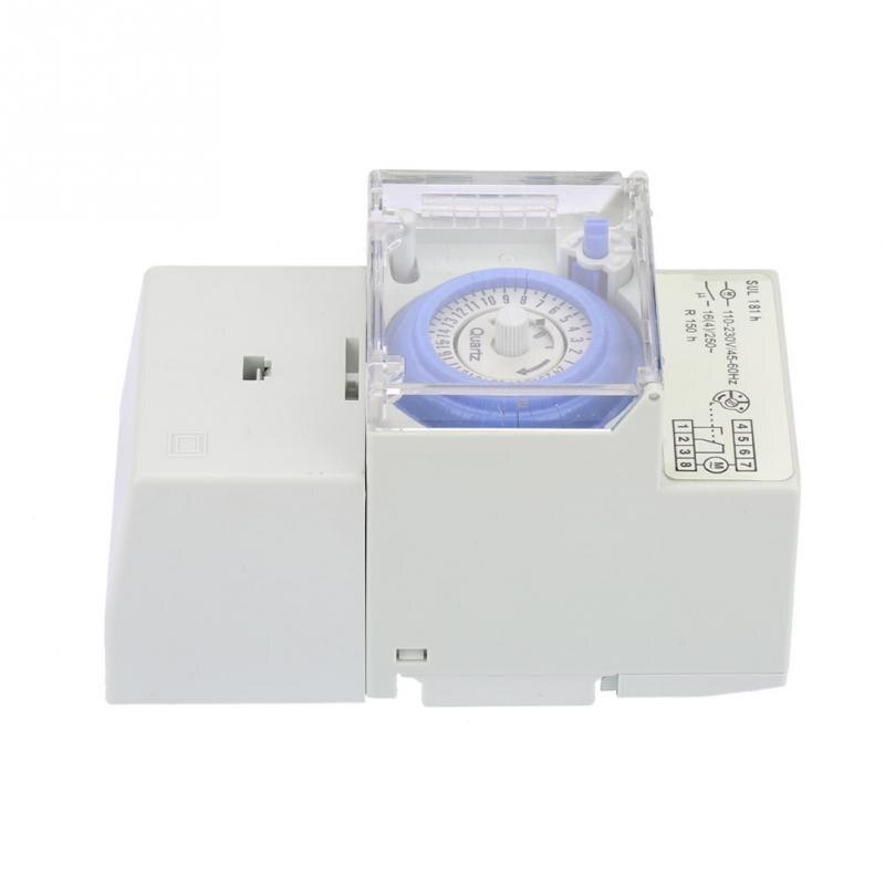 Zeit Schalter 110-230 V Sul181h 24 Stunden Analog Mechanische Timer Manuelle/auto Controller Zeit Schalter Haushalt Timer Timer
