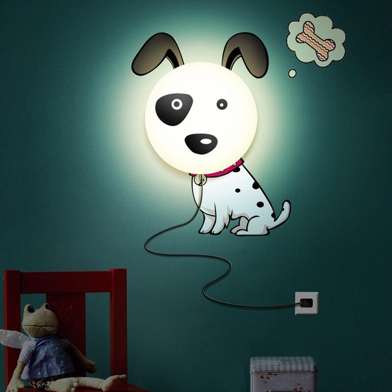 Plug In électrique lampe/bricolage fleurs Yan papier peint veilleuse/enfants chambre dessin animé couchette lampe