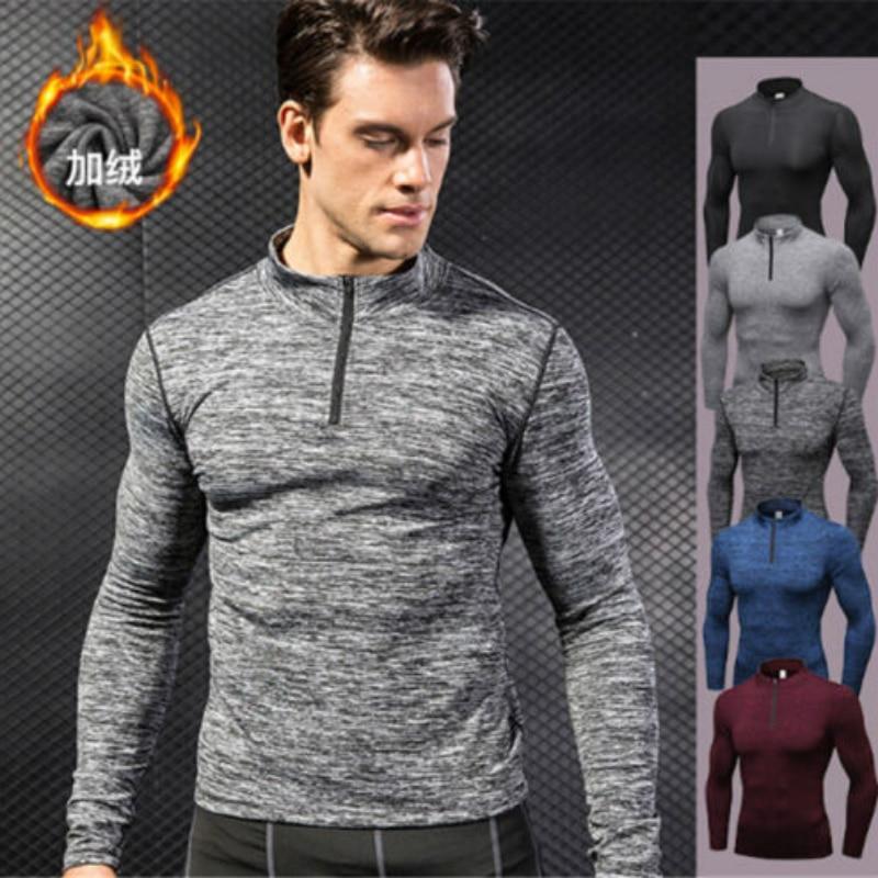 Men  Casual Wool Winter Thickened Warm Coat Male Velvet Male Sweatshirts Coat Zipper Man Clothing