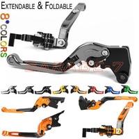 CNC Levers For YAMAHA FZ600 SRX600 XJ600 / FJ600 FZR600/R FZR400/S Adjustable Brake Motorcycle Folding Extendable Clutch