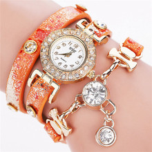 Korean Fashion Women Watch Simple Retro Small Dial Round Belt Woman Wat