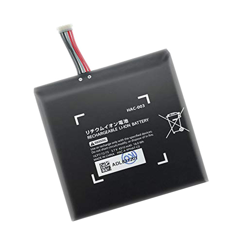 3.7v 4310mah Hac-003 Internal Replacement Li-Ion Battery Pack For Ns Nintendo Switch Game Console