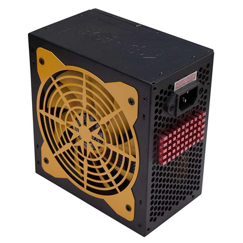140-260V ماكس 550W امدادات الطاقة الكمبيوتر Pc وحدة المعالجة المركزية 12V 20 + 4Pin 120 مللي متر مروحة كاتمة للصوت بكيي-E Sata محول الطاقة ل إنتل Amd الكمبيوتر U