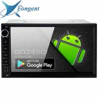 7 Android 9,0 Octa Core 4G + 64G doble Universal 2 Din para Nissan Toyota coche estéreo de Audio GPS Navi Radio Multimedia PX6 RK3399