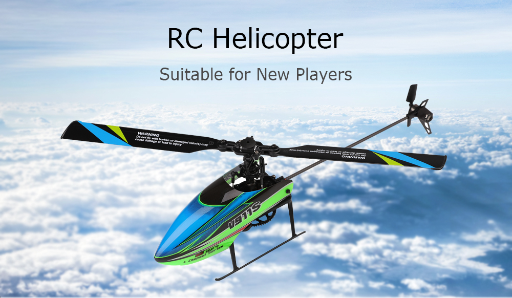 Amicable Original Wltoys V911s 2.4g 4ch 6-aixs Gyro Flybarless Rc Copter Rtf F Mode 2 For Kids Birthday Gifts Remote Control Kids Toys