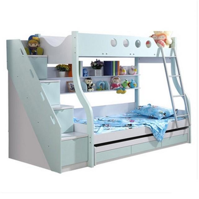 Yatak Literas Kids Room Mobili Per La Casa Modern Frame bedroom Furniture Cama Moderna Mueble De Dormitorio Double Bunk Bed