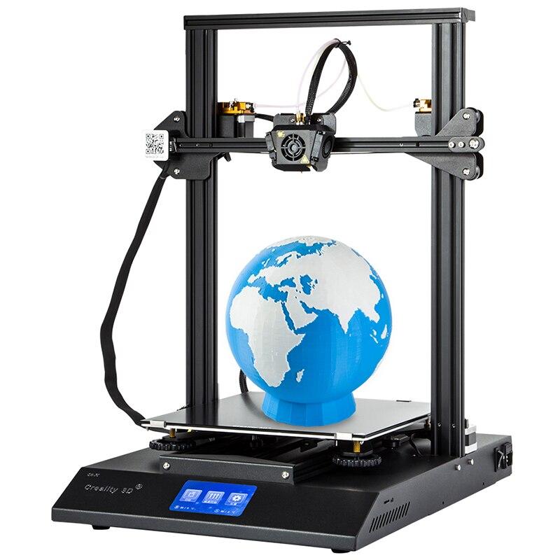 D'origine Creality 3D CR-X Rapidement Assembler 3D Imprimante DIY Kit Haute Précision 3D Imprimante Max 300x300x400mm Ligne Prioritaire